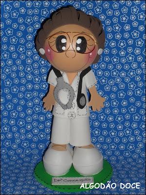 FOFU DOCTORA M%C3%89DICA+3D+personalizada