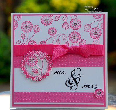 Monica Gale Top STAMPINUP UK Demonstrator Mr And Mrs Retired Showcase