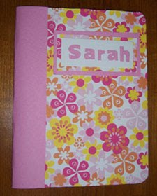 the paper girl: back to school timedecorate a composition book