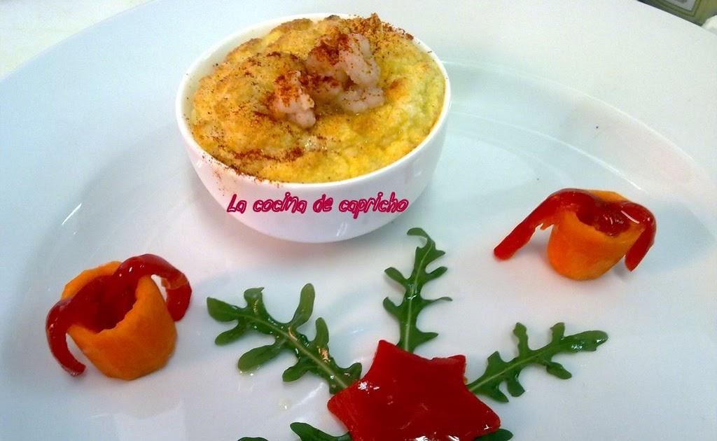 La cocina de capricho souffle de pescado for Cocinar tintorera
