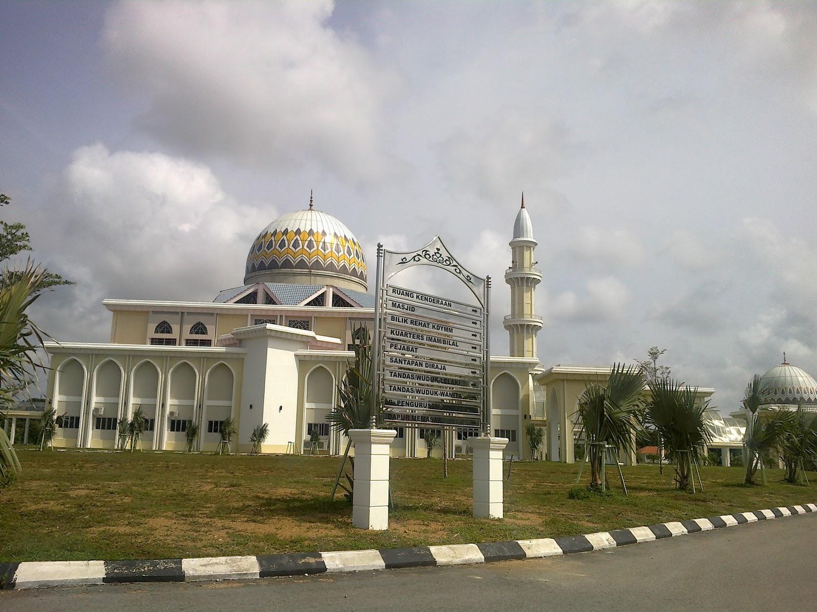 Solat jamak di Masjid Baru Pekan, Pahang