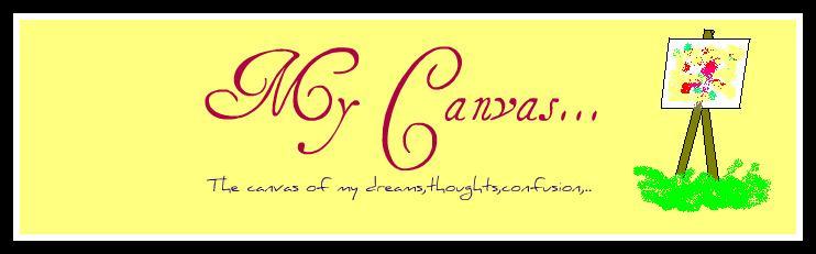 My Canvas..(കോതയുടെ പാട്ട്  :) )