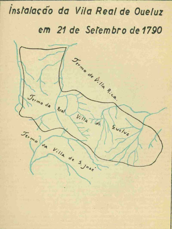 MAPA DO TERMO DA VILA QUELUZ 1790