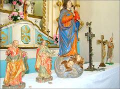 imagens da capela Sto Antônio, devolvidas pelo pároco da matriz