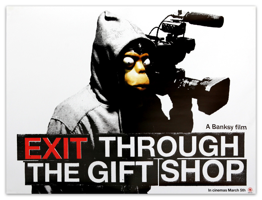 Banksy 'Exit Through The Gift