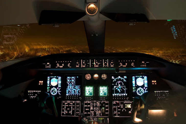 CockPit - Lear jet