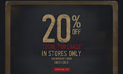 Abercrombie and Fitch & Hollister Coupons 20% Off Your Total Purchase!