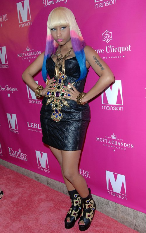 WTF is Nicki Minaj wearing? Better yet,who was she trying to channel?