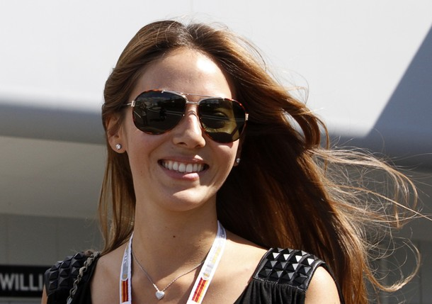 Jessica Michibata girlfriend of McLaren Formula One driver Jenson Button of