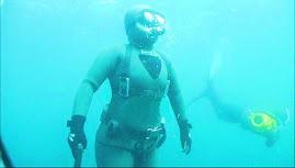 En ascenso, bajo el mar, en Pichidangui.