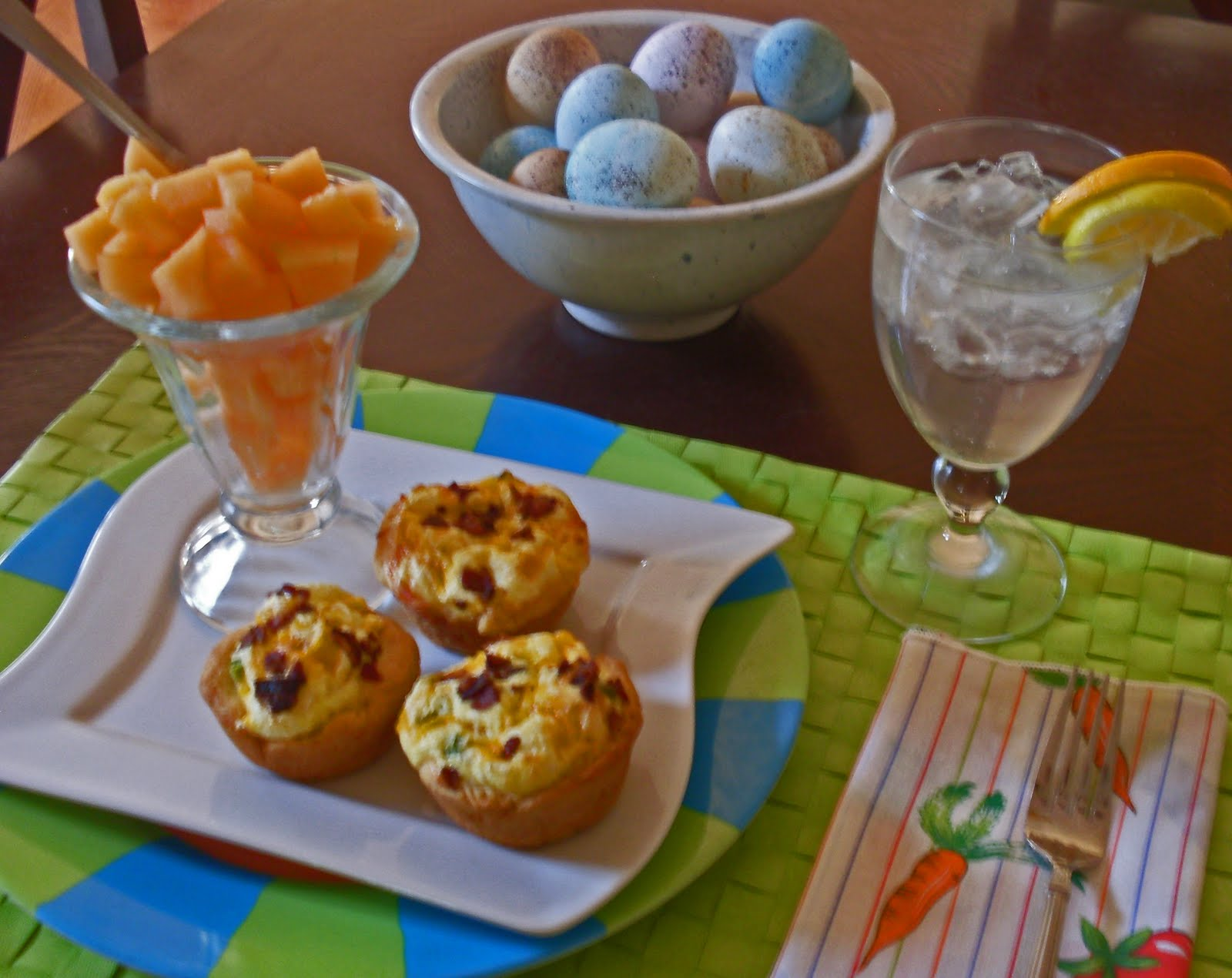 At Home 'n About: Bacon Quiche Tarts on Easter Morning