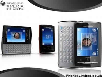Spesifikasi Sony Ericsson XPERIA X10 mini pro