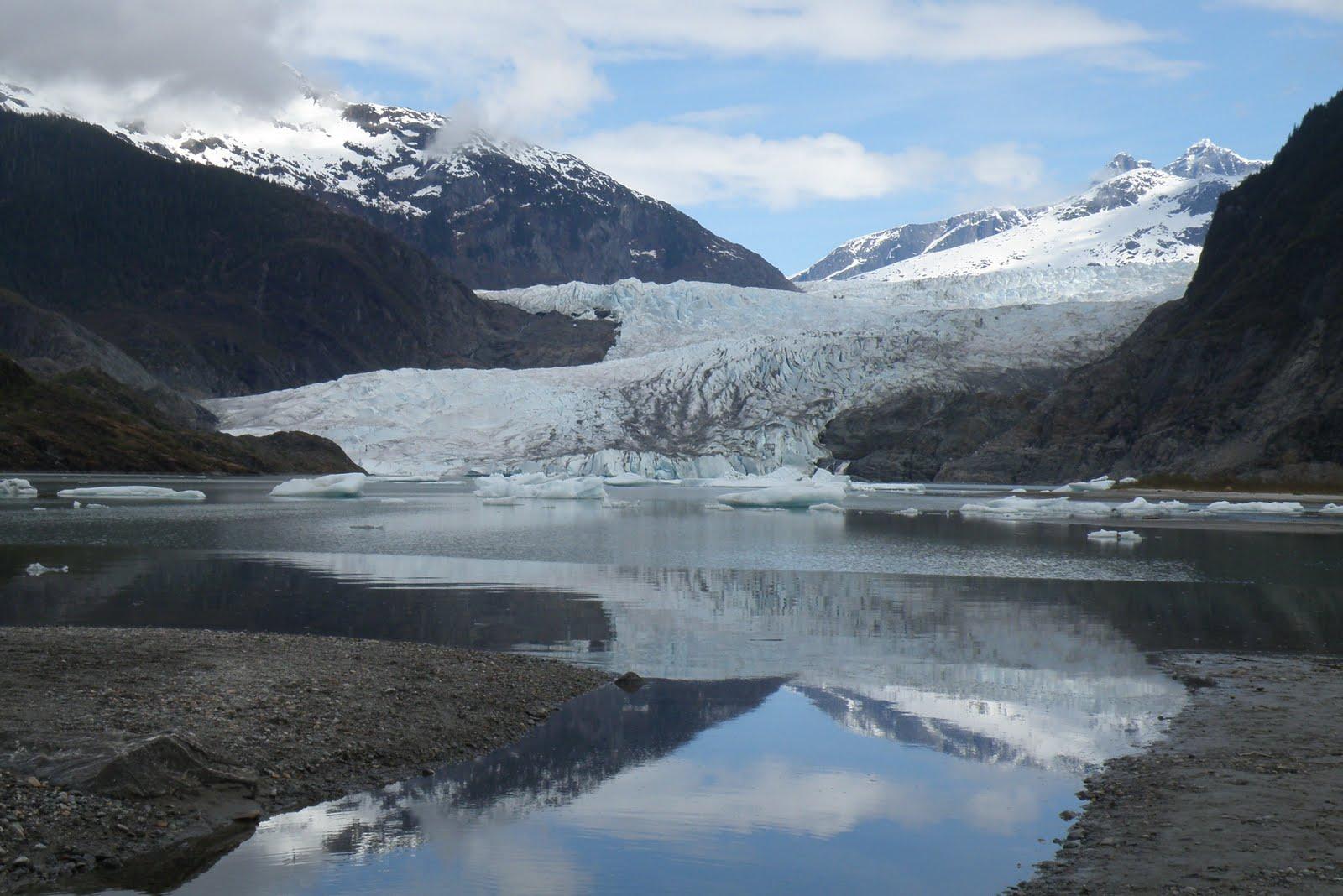 nopham mendenhall glacier juneau alaska