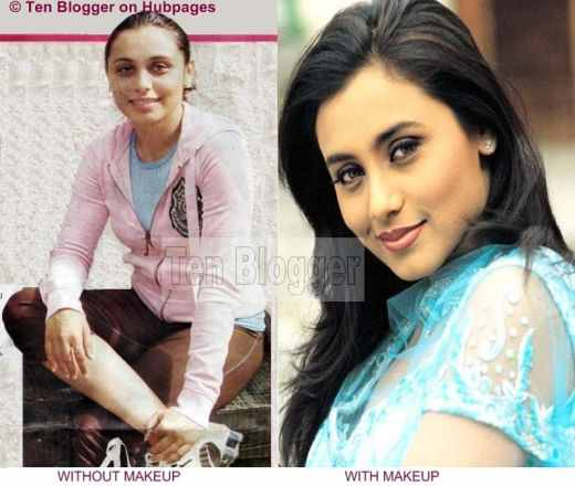 Rani Mukherjee Without Makeup, Bollywood Stars Without Makeup ...