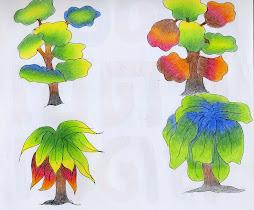 เทคนิคการใช้สีกับสื่อการสอน