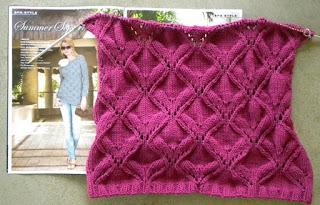 Azalea Bristol from Verena Knitting Summer 2010