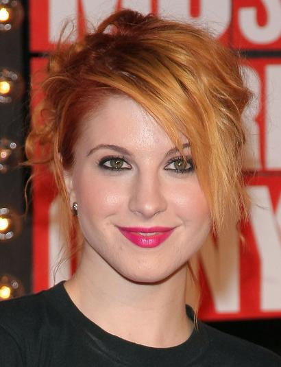 hayley williams paramore. paramore hayley williams red