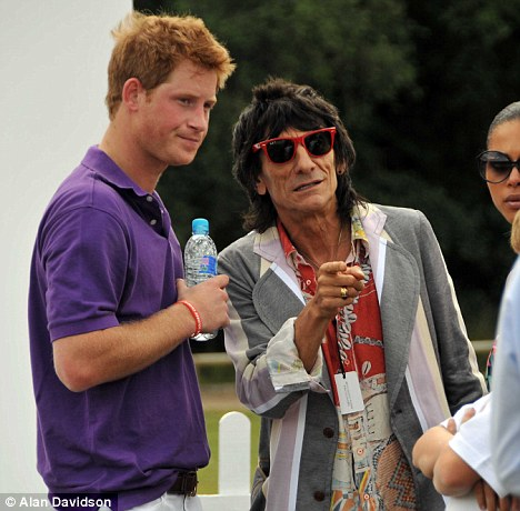 prince harry polo. Horsing around: Prince Harry