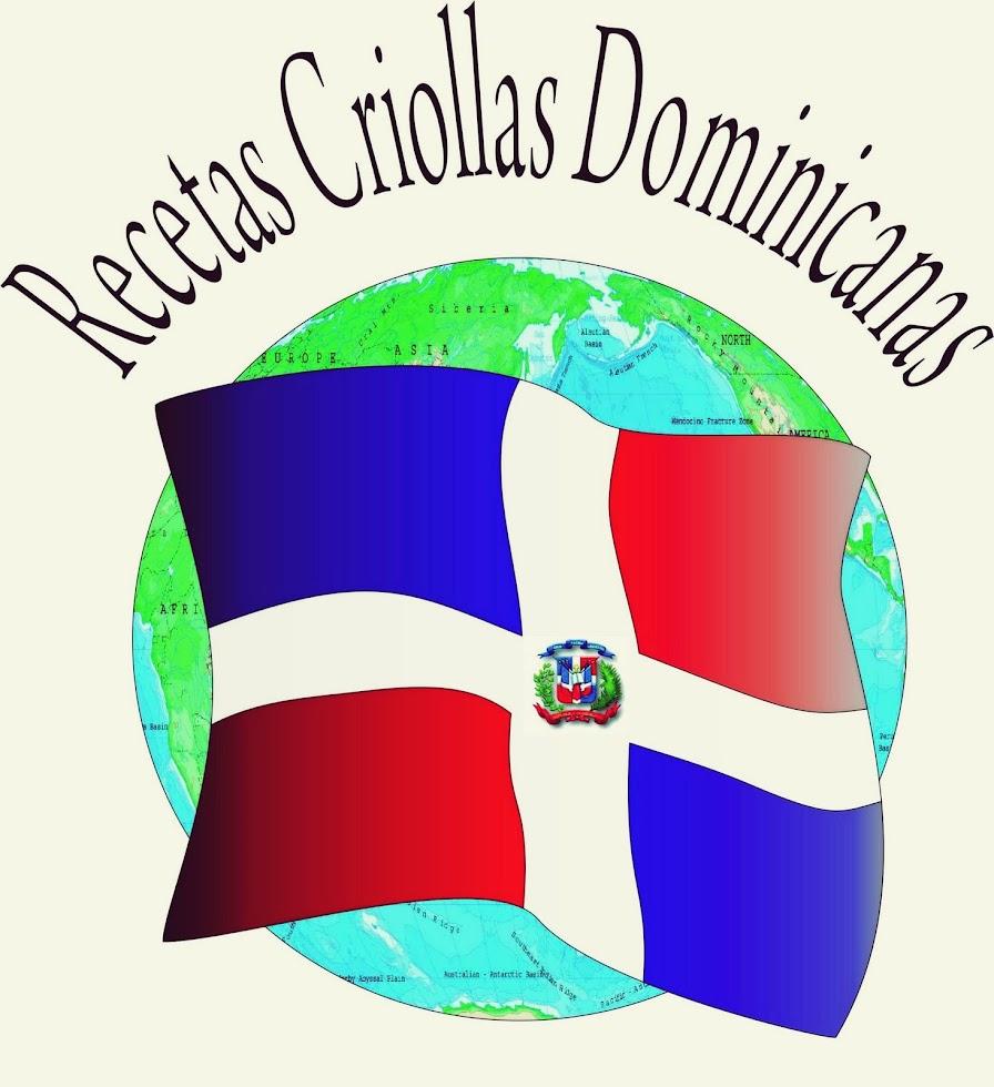 Recetas Criollas Dominicanas