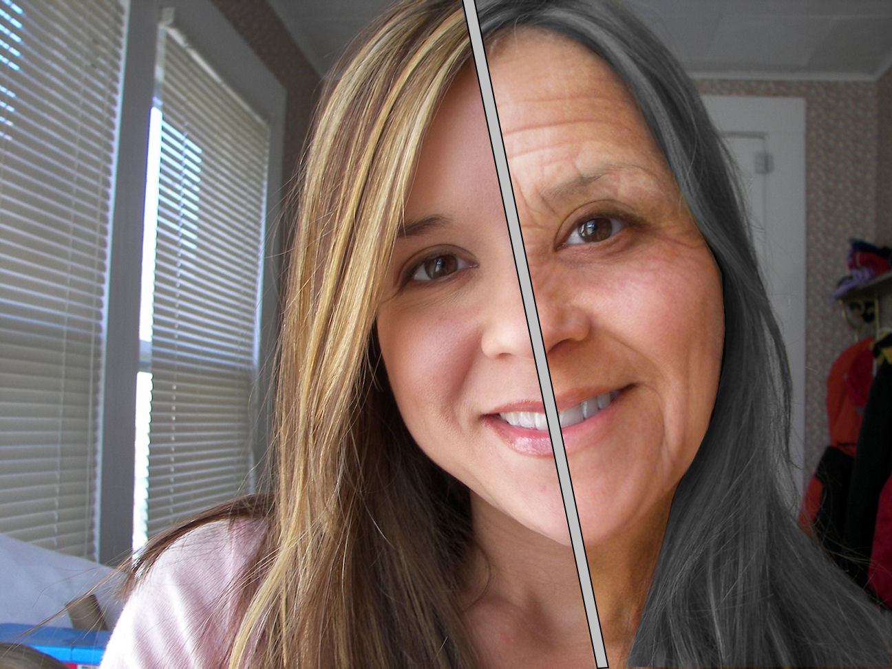 Mature woman vs young girl 50 - 2 6
