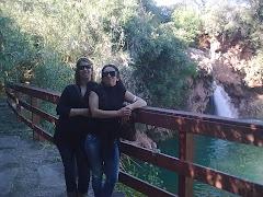 eu e a minha amiga irina numa breve viagem a tavira para visitar a minha filha rakas