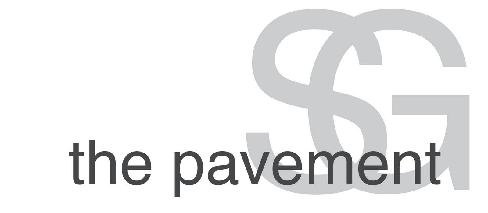 the pavement