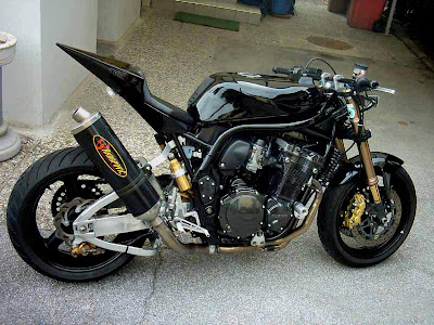 Foto Modifikasi Motor Honda Tiger