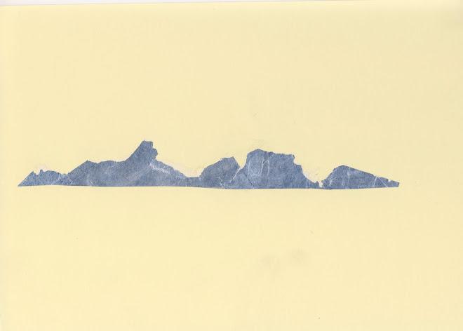 a silver mountain