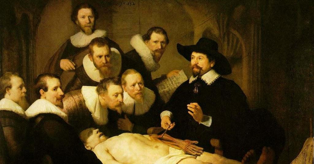 ANR Héctor, puro arte: Comentario de La lección de anatomía, de ...