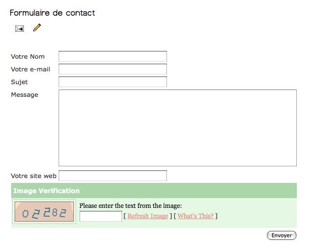 Cr er un formulaire de contact techniques infographiques - Formulaire de contact ...