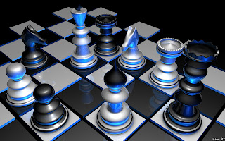 3D Chess wallpaper