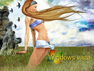 Vista Nature wallpaper