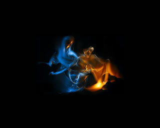 Fire Smoke wallpaper