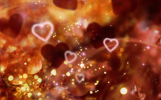 Hearts Glitter wallpaper