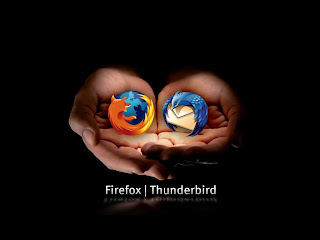 Firefox Black wallpaper