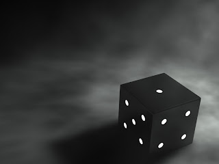 Dice Black wallpaper