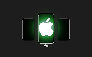 Apple Green Light wallpaper