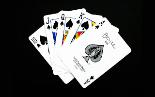 Cards Black wallpaper