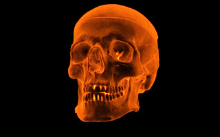 3D Fire Skull wallpapers