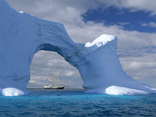 Antarctic Snow wallpaper