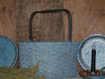 SHAKER BASKET ~ ROBIN EGG BLUE