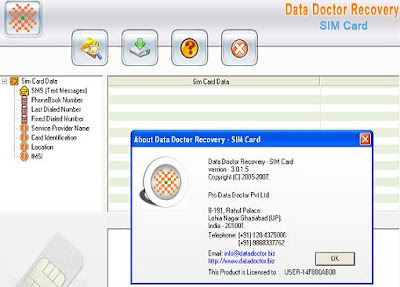 Sim Card Data Recovery Software recovers your mobile phone deleted text mes