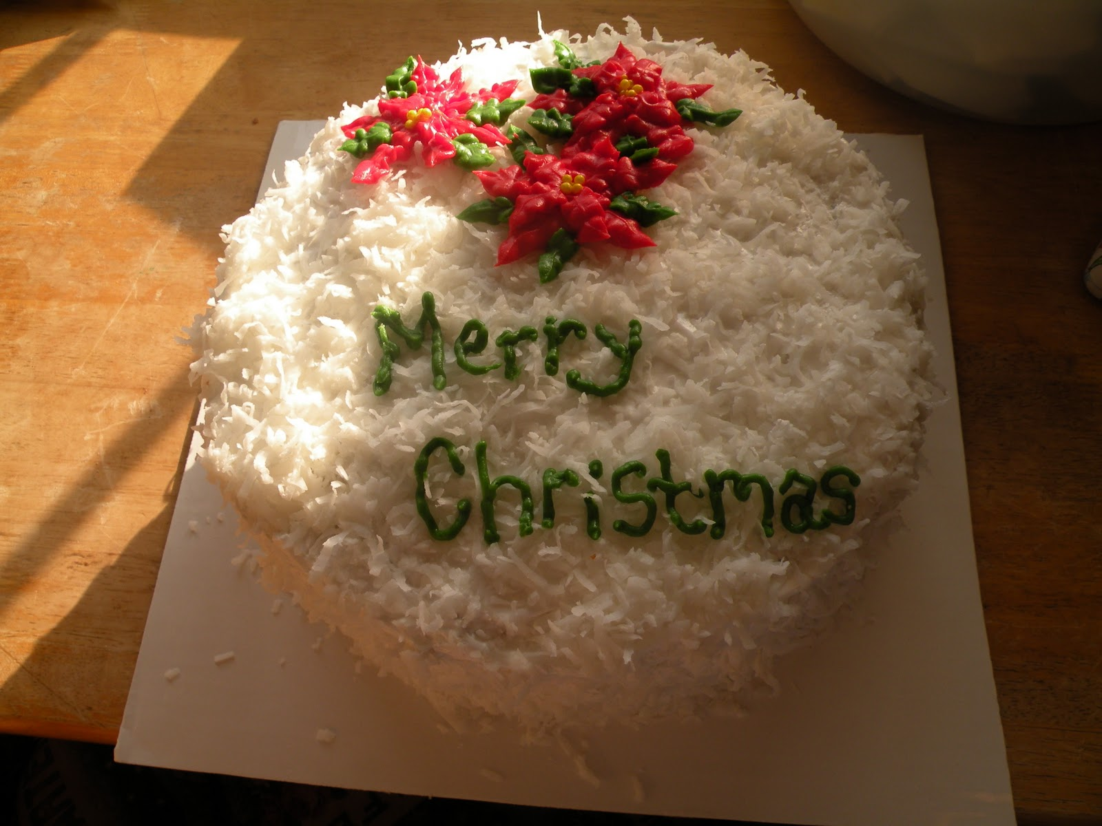 Merry Christmas Cakes