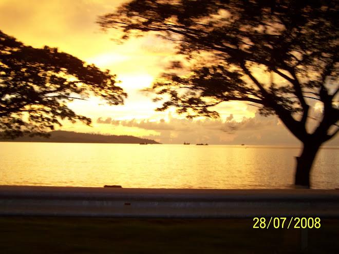 Suatu Senja di Teluk Likas