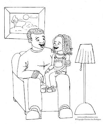 Fathers  Coloring Pages on Father S Day Coloring Pages