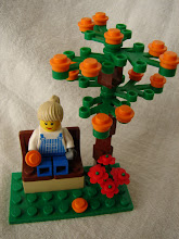 ORANGE TREE & GARDEN BENCH CUSTOM BUILDING KIT