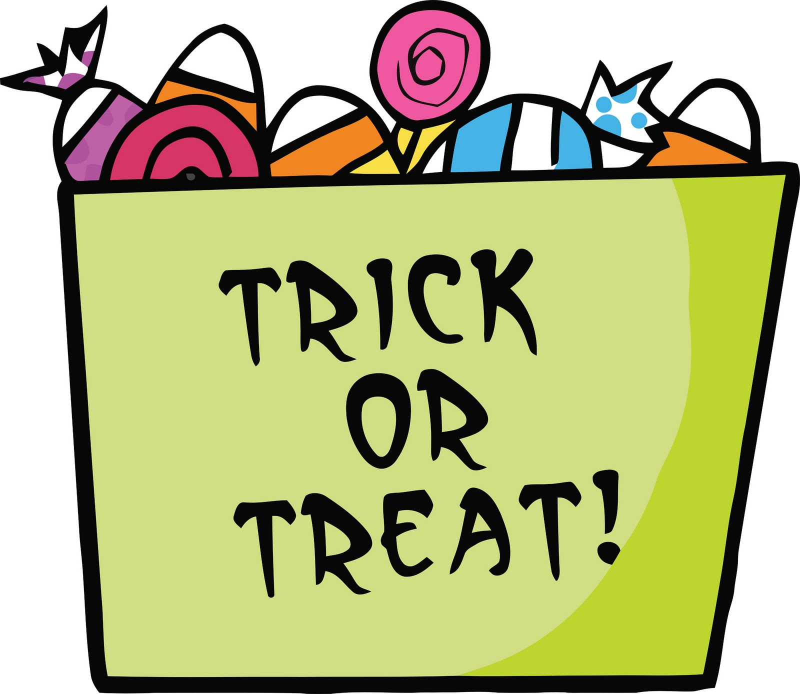 Trick Or Treat Candy Clipart 5B Blogger: October 20...
