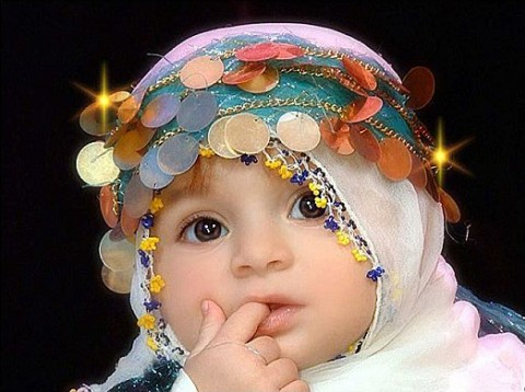 Cute Muslim Babies Wallpapers