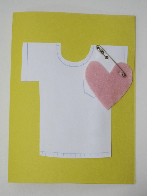 "fun kids craft: ""wear your heart on your sleeve"" valentine"