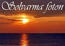 Min Solvarma fotoblogg